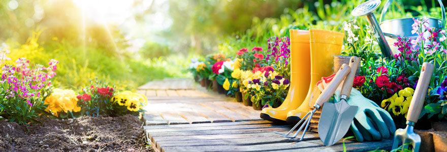 Outillage de jardin